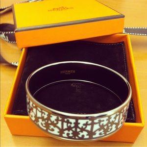 Hermès Enamel Bangle Bracelet ⭐️Authentic⭐️